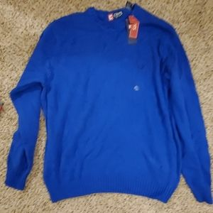 Chaps Men's Crewneck Sweater, RBlue, new